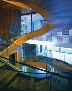 Staircase Glass Railing A